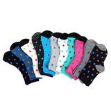 12 đôi tất cổ cao in họa tiết cho bạn gái
