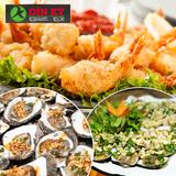 Buffet tối Lẩu & Nướng - Nhà hàng Hải sản Dìn Ký