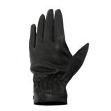 Găng tay giả da sần lót lông màu đen nam tính