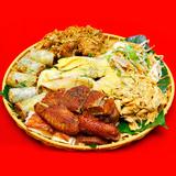 Gà mẹt hoặc bò mẹt 6 món- Hương vị ẩm thực Việt