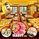 Buffet Habit BBQ - Menu VIP bổ sung nhiều món mới
