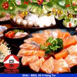 Deal Giáng sinh - Buffet Nướng Lẩu Shiki BBQ