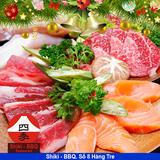 Deal Giáng Sinh - Buffet nướng & Sushi Shiki BBQ