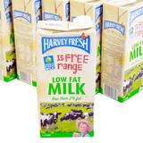 6 hộp sữa tươi Havery fresh tách kem nhập khẩu Úc