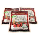 Deal Giáng sinh 3 gói kẹo sâm không đường Hàn Quốc