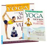 Combo 2 cuốn cẩm nang luyện tập Yoga
