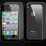 2 bộ dán màn hình thường + kim cương iPhone 4/4S