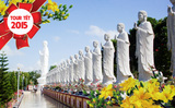 Tour viếng 10 chùa Long Hải Vũng Tàu