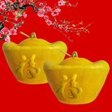 Cặp dưa hấu thỏi vàng quà tết ý nghĩa