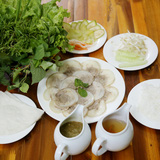 Bánh tráng phơi sương & món ngon Nhà hàng Hoàng Ty