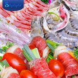 Buffet Việt & Lẩu hải sản 50 món nhà hàng Skylight