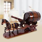 Xe ngựa đơn 1 người 1 pháo kéo trống rượu
