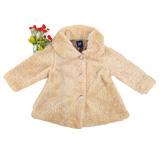Điệu đà áo khoác lông cho bé