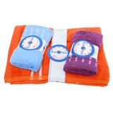 Combo 1 khăn tắm + 2 khăn mặt Eurotex 100% cotton