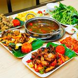 Set ếch nhiều món cho 04 - 06 người tại Quán Vui