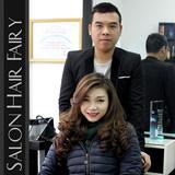Trọn gói làm tóc Uốn/Nhuộm/Ép tại Salon Hair Fairy