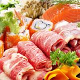 Thực đơn buffet lẩu và sushi nhà hàng Moon BBQ