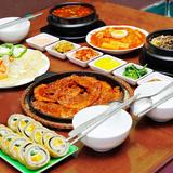 Chọn 1 trong 2 set ăn Hàn Quốc tròn vị 3 - 4 người