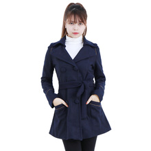 Áo khoác dạ dáng dài điệu đà cho bạn gái