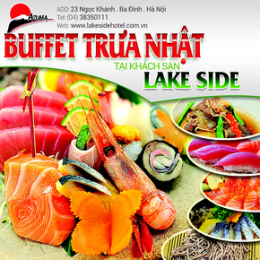 Buffet Nhật - lakeside