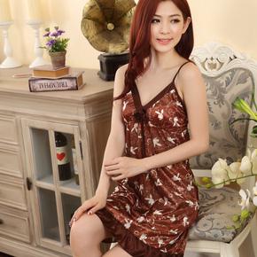 Đầm ngủ họa tiết xinh xắn