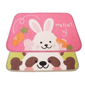 Combo 02 thảm Hello Panda & Hello Rabbit