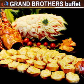 Buffet cao cấp tại  Grand Brothers - Royal City