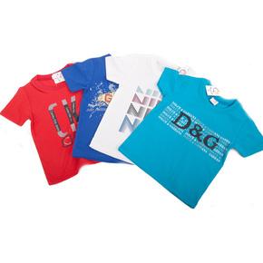 Combo 2 áo thun in chữ cho bé trai 1 - 2 tuổi