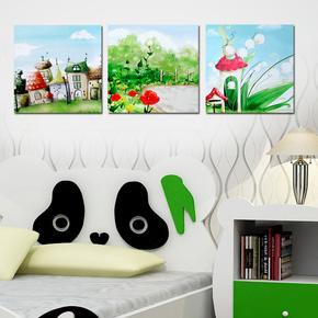 Bộ tranh nghệ thuật sinh động cho các bé
