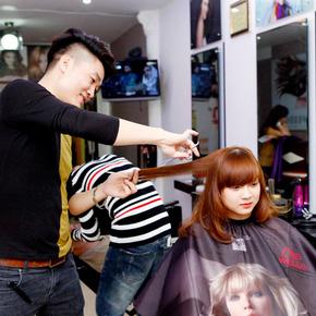Cắt + Nhuộm/ Uốn/ Ép Hair Salon Thắng Sài Gòn