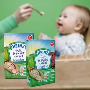 6 Hộp Ngũ cốc Heinz - Giải pháp cho bé ăn dặm