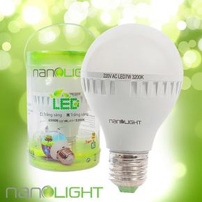 Bóng đèn led siêu tiết kiệm nanolight 7W