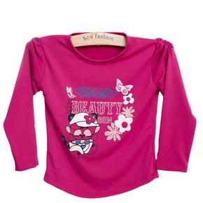Combo 2 áo dài tay cotton cho bé gái
