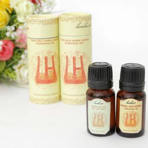 Combo 2 lọ tinh dầu nguyên chất Tràm và Đàn hương