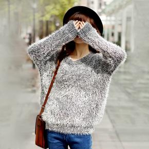 Áo len bông xù điệu đà cá tính