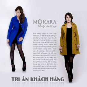 Áo dạ Mokara - Chương trình tri ân khách hàng