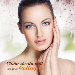 Chăm sóc da mặt mùa hanh khô liệu pháp collagen