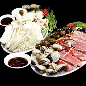 Lẩu nấm nhà hàng hải sản Nha Trang