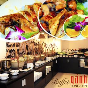 Buffet Gánh Tối - KS Bông Sen