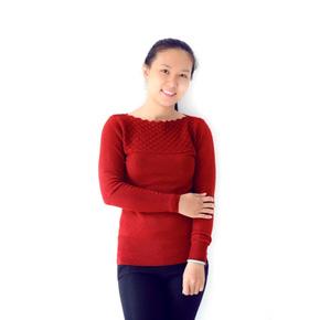 Áo len vảy cá thời trang cho bạn gái