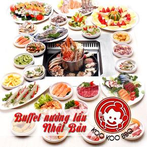 Buffet nướng lẩu Nhật Bản Koo Koo BBQ