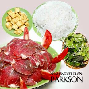 Ấm lòng Lẩu riêu cua bò- Parkson Thái Hà