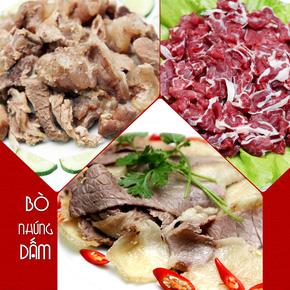 Ăn trưa tại Bò nhúng dấm số 2 Thái Phiên