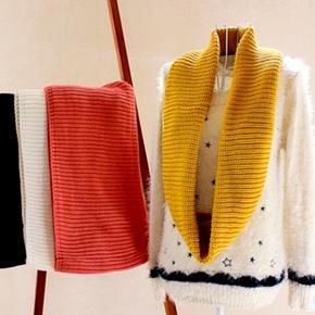 Khăn len ống unisex thời trang cho nam và nữ