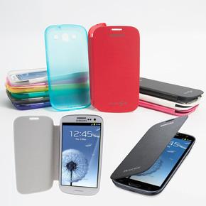 Combo ốp lưng da + ốp lưng silicon Galaxy S3