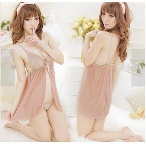 Váy Ngủ Gợi Cảm Màu Nude