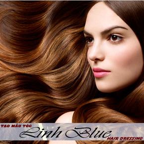 Cắt + Gội +Nhuộm các màu siêu bóng Salon Linh Blue