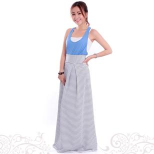 Váy Chống Nắng Sọc Ngang