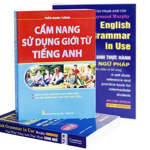 English grammar in use - 136 đề mục ngữ pháp + Cẩm nang sử dụng giới từ tiếng Anh tại Hồ Chí Minh