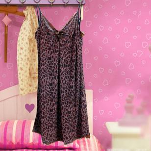 Váy Ngủ Họa Tiết Da Báo - Kèm Quần Chip